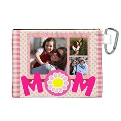 Mothers Day By Mom   Canvas Cosmetic Bag (xl)   Me9o4fcfqmjs   Www Artscow Com Back