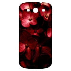 Red Flowers Bouquet In Black Background Photography Samsung Galaxy S3 S Iii Classic Hardshell Back Case by dflcprints