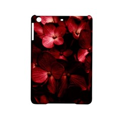 Red Flowers Bouquet In Black Background Photography Apple Ipad Mini 2 Hardshell Case by dflcprints