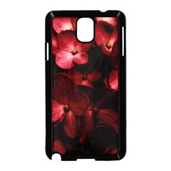Red Flowers Bouquet In Black Background Photography Samsung Galaxy Note 3 Neo Hardshell Case (black) by dflcprints