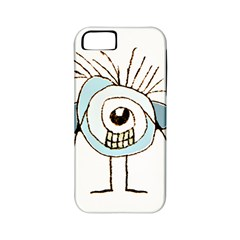Cute Weird Caricature Illustration Apple Iphone 5 Classic Hardshell Case (pc+silicone) by dflcprints
