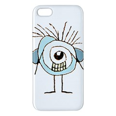 Cute Weird Caricature Illustration Apple Iphone 5 Premium Hardshell Case by dflcprints