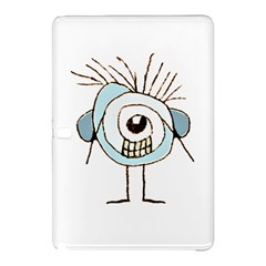 Cute Weird Caricature Illustration Samsung Galaxy Tab Pro 10 1 Hardshell Case by dflcprints