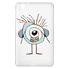 Cute Weird Caricature Illustration Samsung Galaxy Tab Pro 8 4 Hardshell Case by dflcprints