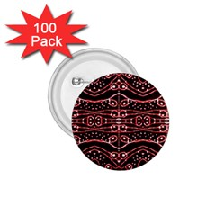 Tribal Ornate Geometric Pattern 1 75  Button (100 Pack) by dflcprints