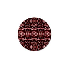 Tribal Ornate Geometric Pattern Golf Ball Marker 4 Pack by dflcprints