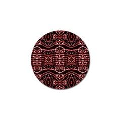 Tribal Ornate Geometric Pattern Golf Ball Marker 10 Pack by dflcprints