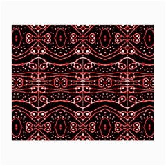 Tribal Ornate Geometric Pattern Glasses Cloth (small, Two Sided) by dflcprints