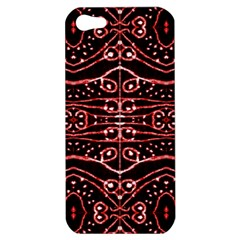 Tribal Ornate Geometric Pattern Apple Iphone 5 Hardshell Case by dflcprints