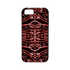 Tribal Ornate Geometric Pattern Apple Iphone 5 Classic Hardshell Case (pc+silicone) by dflcprints