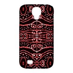 Tribal Ornate Geometric Pattern Samsung Galaxy S4 Classic Hardshell Case (pc+silicone) by dflcprints