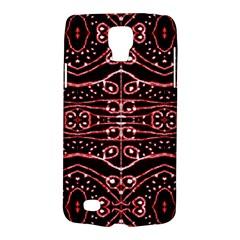 Tribal Ornate Geometric Pattern Samsung Galaxy S4 Active (i9295) Hardshell Case by dflcprints