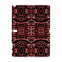 Tribal Ornate Geometric Pattern Samsung Galaxy Note 10 1 (p600) Hardshell Case by dflcprints