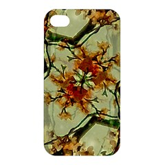 Floral Motif Print Pattern Collage Apple Iphone 4/4s Hardshell Case by dflcprints