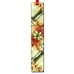 Floral Motif Print Pattern Collage Large Bookmark by dflcprints