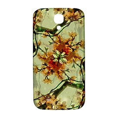 Floral Motif Print Pattern Collage Samsung Galaxy S4 I9500/i9505  Hardshell Back Case by dflcprints