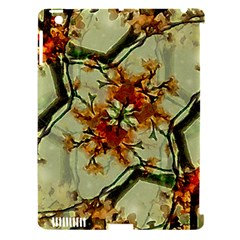 Floral Motif Print Pattern Collage Apple Ipad 3/4 Hardshell Case (compatible With Smart Cover) by dflcprints