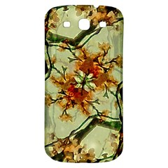 Floral Motif Print Pattern Collage Samsung Galaxy S3 S Iii Classic Hardshell Back Case by dflcprints