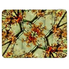 Floral Motif Print Pattern Collage Samsung Galaxy Tab 7  P1000 Flip Case by dflcprints