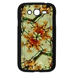 Floral Motif Print Pattern Collage Samsung Galaxy Grand Duos I9082 Case (black) by dflcprints