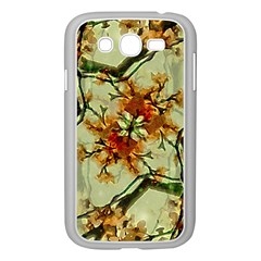 Floral Motif Print Pattern Collage Samsung Galaxy Grand Duos I9082 Case (white) by dflcprints
