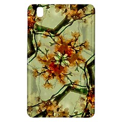 Floral Motif Print Pattern Collage Samsung Galaxy Tab Pro 8.4 Hardshell Case