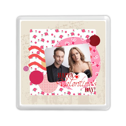 Love By Love   Memory Card Reader (square)   4unrwivlacpy   Www Artscow Com Front
