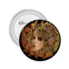 Organic Planet 2 25  Button by icarusismartdesigns