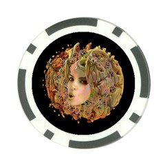 Organic Planet Poker Chip by icarusismartdesigns