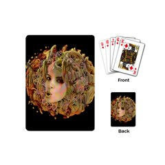 Organic Planet Playing Cards (mini) by icarusismartdesigns