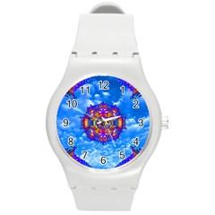 Sky Horizon Plastic Sport Watch (medium) by icarusismartdesigns