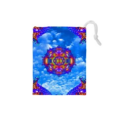 Sky Horizon Drawstring Pouch (small) by icarusismartdesigns