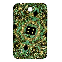 Luxury Abstract Golden Grunge Art Samsung Galaxy Tab 3 (7 ) P3200 Hardshell Case  by dflcprints