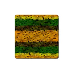 Tribal Floral Pattern Magnet (square) by dflcprints