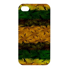 Tribal Floral Pattern Apple iPhone 4/4S Premium Hardshell Case by dflcprints