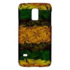 Tribal Floral Pattern Samsung Galaxy S5 Mini Hardshell Case  by dflcprints