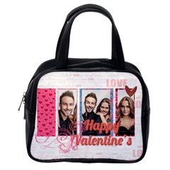 Love By Love   Classic Handbag (two Sides)   Qf3hz9f8aufz   Www Artscow Com Back