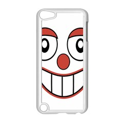 Happy Clown Cartoon Drawing Apple Ipod Touch 5 Case (white) by dflcprints