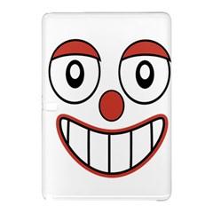 Happy Clown Cartoon Drawing Samsung Galaxy Tab Pro 12 2 Hardshell Case by dflcprints