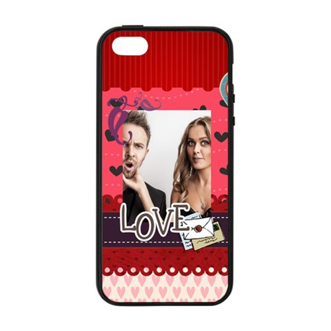 Love By Love   Apple Iphone 5/5s Soft Edge Hardshell Case    Gfuohojb41t9   Www Artscow Com Front