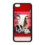love - Apple iPhone 5C Seamless Case (Black)