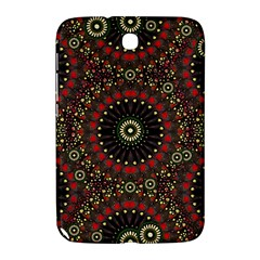 Digital Abstract Geometric Pattern In Warm Colors Samsung Galaxy Note 8 0 N5100 Hardshell Case  by dflcprints