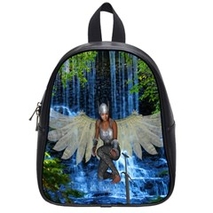 Magic Sword School Bag (small) by icarusismartdesigns