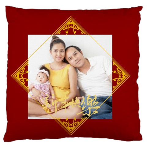 Chinese New Year By Ch   Large Flano Cushion Case (one Side)   Pnfstcyaovg9   Www Artscow Com Front
