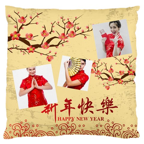 Chinese New Year By Ch   Standard Flano Cushion Case (one Side)   W016smw4leqh   Www Artscow Com Front