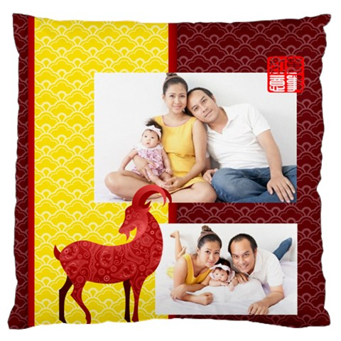 Chinese New Year By Ch   Standard Flano Cushion Case (one Side)   Nedyef983xd0   Www Artscow Com Front