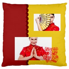 Chinese New Year By Ch   Large Flano Cushion Case (two Sides)   Qt1jkpyn58sr   Www Artscow Com Back