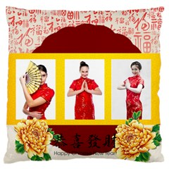Chinese New Year By Ch   Large Flano Cushion Case (two Sides)   2w868wb251o0   Www Artscow Com Back