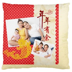 Chinese New Year By Ch   Large Flano Cushion Case (two Sides)   4ajaj04f7ei3   Www Artscow Com Back
