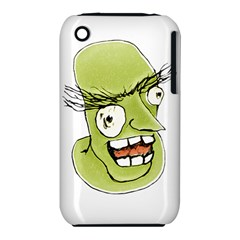 Mad Monster Man With Evil Expression Apple Iphone 3g/3gs Hardshell Case (pc+silicone) by dflcprints